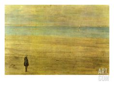 Harmony in Blue and Silver - Trouville Premium Giclee Print by James Abbott McNeill Whistler at Art.com