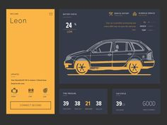 Great work from a designer in the Dribbble community; your best resource to discover and connect with designers worldwide. Dashboard Car, Website Designs, Typo, Connection, Web Design, Designers, Behance, Community