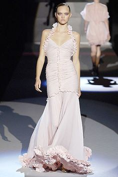 Zac Posen Spring 2007 Ready-to-Wear Fashion Show - Gemma Ward