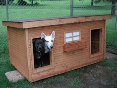 The Bama Boys -  Alabama:  several years of being tried and tested, this dog house has been proven to be the most comfortable and the safest home you can build for your beloved dogs.