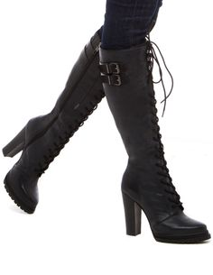 March Lace-up Boots. I ABSOLUTELY LOVE THESE!!!