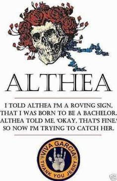 Grateful Dead Quotes, Grateful Dead Image, Grateful Dead Poster, Grateful Dead Althea, Dead And Company, Dead To Me, Forever Grateful, Hippie Art, Im Trying