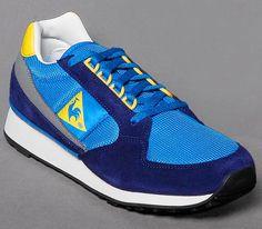 Le Coq Sportif Eclat 89 – Blue / Navy – Yellow