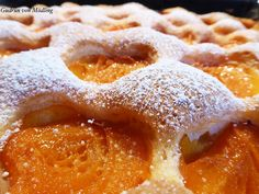 Grandma's apricot cake from the tin - Backrezepte - Kuchen Easy Baking Recipes, Easy Cake Recipes, Fruit Recipes, Easy Desserts, Sweet Recipes, Dessert Recipes, Healthy Protein Breakfast, Austrian Recipes, Sweet Cakes