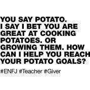 Bwahahahaha! Accurate. ENFJ
