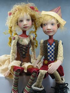 Dianne Adam Dolls LOVE THE CORSETT MADE FROM A BABY SHOE