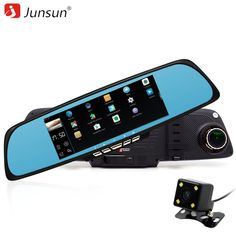 Junsun A700P 6.86 Inch Dual Camera Android 4.4.2 Car DVRs with ADAS //Price: $122.28 & FREE Shipping //     #navigation