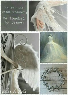 Be filled with wonder.be touched by peace. Quote Collage, Color Collage, Collage Art, Collages, Beautiful Collage, Beautiful Words, Mood Colors, Colours, Colour Board