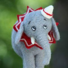 Toy circus elephant