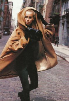 Niki Taylor -Vogue Paris october 1990  by Pamela Hanson