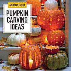 Get your carving tools out, because we have 33 ways—from spooky to elegant to jolly—to make your house Halloween ready.