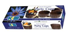 Kane Candy Chocolate Party Cups  www.KaneCandy.com