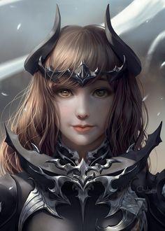 ArtStation - Final fantasy XIV's Dark knight armour , Chuby Mi