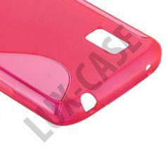 S-Line Transparent (Stark Rosa) LG Google Nexus 4 Skydd