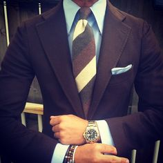 Uhr und Armbänder #top in Szene gesetzt! Herrliches Outfit! #createyourdate