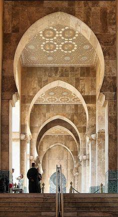 Mosque in Casablanca, Morocco