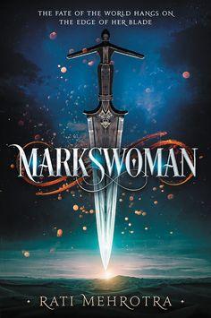 #CoverReveal  Markswoman (Asiana, #1) by Rati Mehrotra