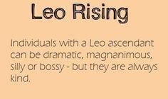 leo rising | Tumblr