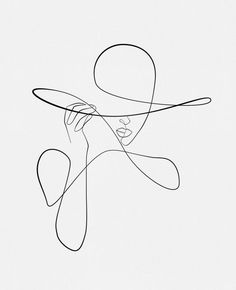 Minimalist Tattoo Designs - Page 18 of 95 - CoCohots Abstract Line Art, Abstract Faces, Minimalist Drawing, Minimalist Art, Minimalist Tattoos, Art Abstrait Ligne, Fashion Wall Art, Henna Tattoo Designs, Wire Art