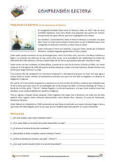 Fichas de Comprensión lectora: Comenzamos una tarea tan importante para los niños como es la comprensión lectora.