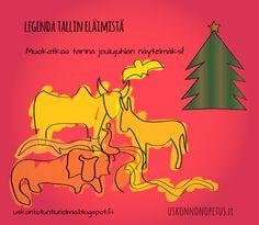 kuva: wikimedia     Joulusarjassamme  tänä vuonna kuunnellaan jouluisia tarinoita, kurkistetaan joulun  symboliikan juurille ja teh...