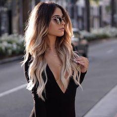 hair, blonde, and fashion εικόνα