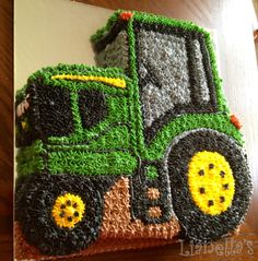 Tractor Cake.