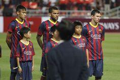 Partido de pretemporada en Bangkok, Selección de Tailandia-FC Barcelona.