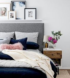 After an epic week, we have spent most of today in bed  loving it this Fresh pop of bedside colour   #interiordesign #interiors #layers #bedroominspo #popofcolour #westelm