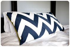 how to make your own chevron fabric