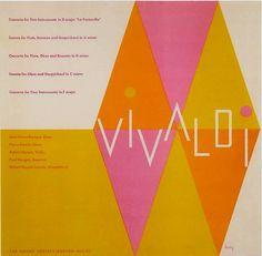 Vivaldi | Cover by Alvin Lustig 1952.