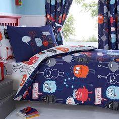 Kids 'Monsters' bedding set