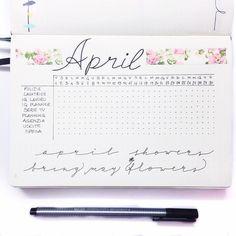 Pronto il #tracker di #aprile  #bulletjournal #bulletjournaling #bulletjournallove #bulletjournalcommunity #bulletjournaljunkies #bujoinspire #leuchttrum1917 #leuchttrum #dotted #bujo #bujoy #planner #plannerlove #planneraddict #filofax #kikkik #midori #kawaii #travelersnotebook #showmeyourplanner #april by martyplanner