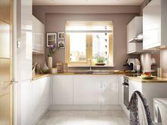 Madison - White Handle-less kitchen | Wickes.co.uk