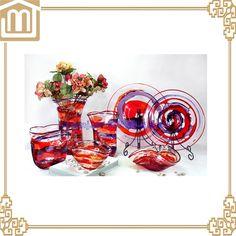 Murano Glass Vase, Glass Chandelier, Creative Arts And Crafts, Xiamen, Hotel Decor, Glass Ball, Decor Crafts, Decorative Items, Modern