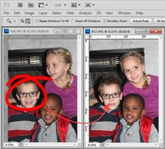 How to Replace a Face in Photoshop in 6 Easy Steps - Image Editing - Edit image online tool. - How to take a face from one photo and add it to another. Photoshop For Photographers, Photoshop Photography, Photography Tutorials, Photography Tips, Popular Photography, Photography Challenge, Creative Photography, Family Photography, Photoshop Tutorial