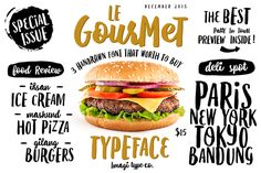 Le Gourmet Typeface by Imagi Type Co. on @creativemarket