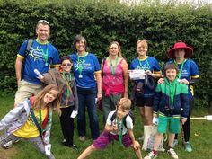 Our Head of Fundraising, Duncan Batty, and family/friends are amongst the first finishers.