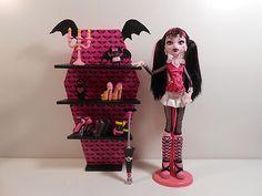 Monster High Furniture - DIY Batwing Shelves