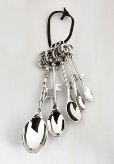 New Arrivals - Key to the Recipe Measuring Spoon Set