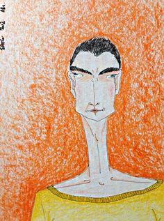 Laranja - Moleskine - caneta fine line e lápis aquarela  #tapiocacomlimao #arte #ilustração #design #desenho