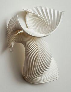 Unbelievable DIY Paper Sculpture Art Design You Must see - Home Beauty Origami, Diy Paper, Paper Art, Sculpture Art, Paper Sculptures, Paperclay, 3d Prints, Paper Folding, Art Plastique