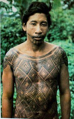 Snake Painting, Body Painting, Ancient Tattoo, Brazil Art, Xingu, Human Body Art, Tribal People, Native American Tribes, Indigenous Art