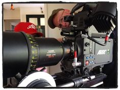 Testing Arri Alexa Plus 4:3, firmware 7.0 that can record 2k Prores 4:3 to SxS cards, with Hawk Anamorphic lenses by @CineBill