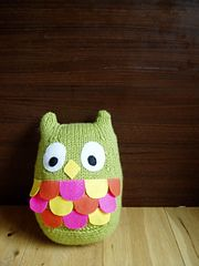 Ravelry: Owl Fat motif en Aine Marriott