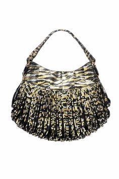 Donna Snake Satchelby Katherine Kwei Zebra Print Skin Python Purses And Bags