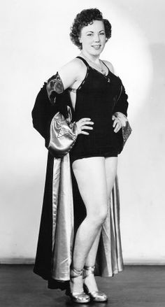 June Byers was a leading wrestler in the 1950s