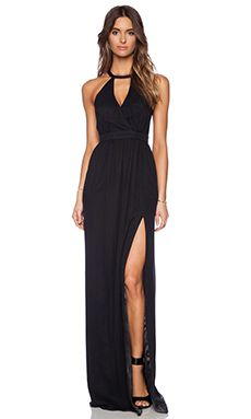Jay Godfrey Dallenbach Backless Gown in Black | REVOLVE