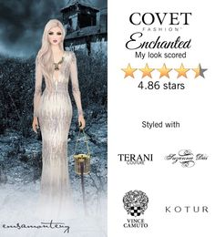 Enchanted @covetfashion #covet #covetfashion #covetfashionapp #fashion #covetwinter2014 #winter2014 #womensfashion #teranicouture #kotur #suzannadai