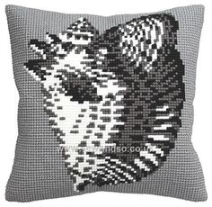 Buy Conque Cushion Front Chunky Cross Stitch Kit Online at www.sewandso.co.uk